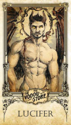 Prayer Card - Lucifer