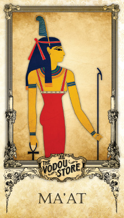 Prayer Card - Ma'at (Maat)