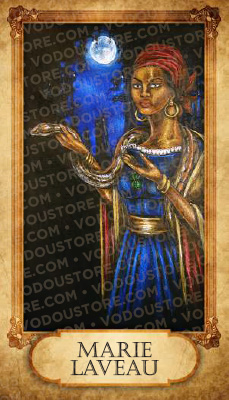 Prayer Card - Marie Laveau
