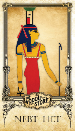 Prayer Card - Nebt-het (Nephthys)