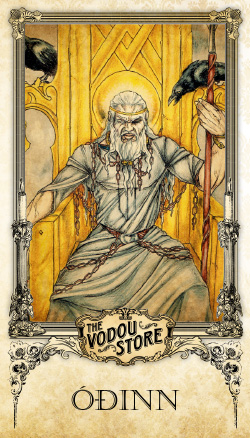 Prayer Card - Odin