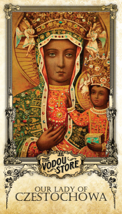 Prayer Card - O.L. of Czestochowa