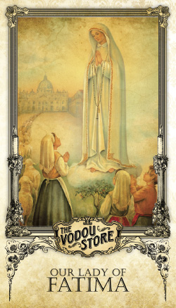 Prayer Card - O.L. of Fatima