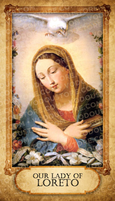 Prayer Card - O.L. of Loreto (B)