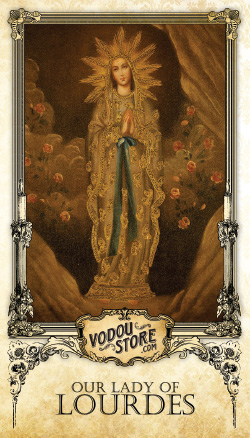 Prayer Card - O.L. of Lourdes