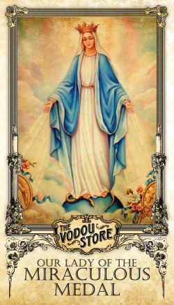 Prayer Card - O.L. of the Miraculous Medal
