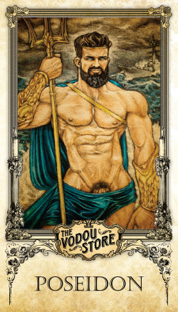 Prayer Card - Poseidon