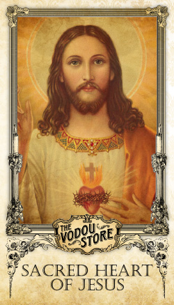 Prayer Card - Sacred Heart of Jesus