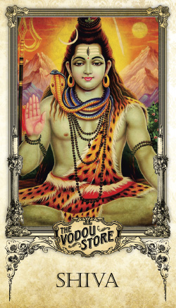 Prayer Card - Shiva