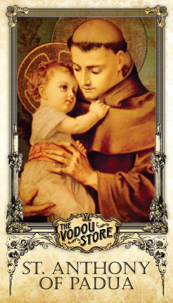 Prayer Card - St. Anthony of Padua