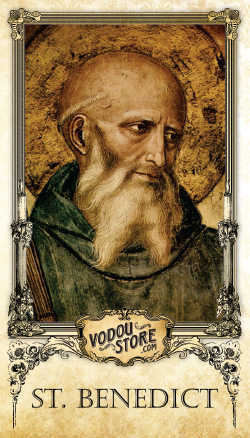 Prayer Card - St. Benedict