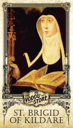 Prayer Card - St. Brigid of Kildare