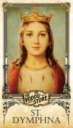 Prayer Card - St. Dymphna