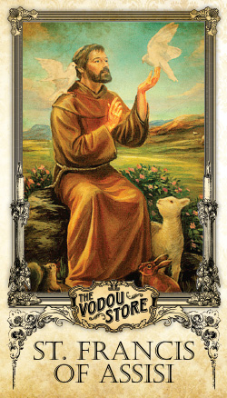Prayer Card - St. Francis of Assisi