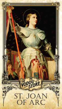 Prayer Card - St. Joan of Arc