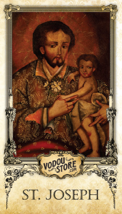 Prayer Card - St. Joseph
