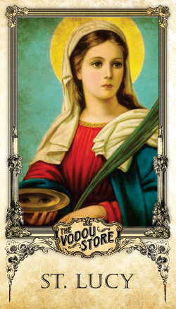 Prayer Card - St. Lucy