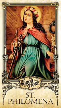 Prayer Card - St. Philomena