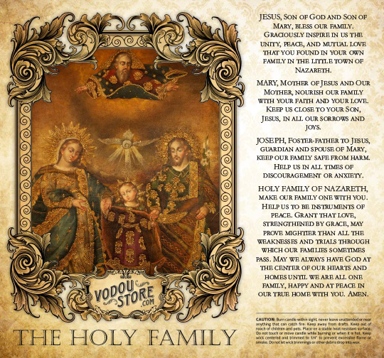 7-Day Candle Label - The Holy Family